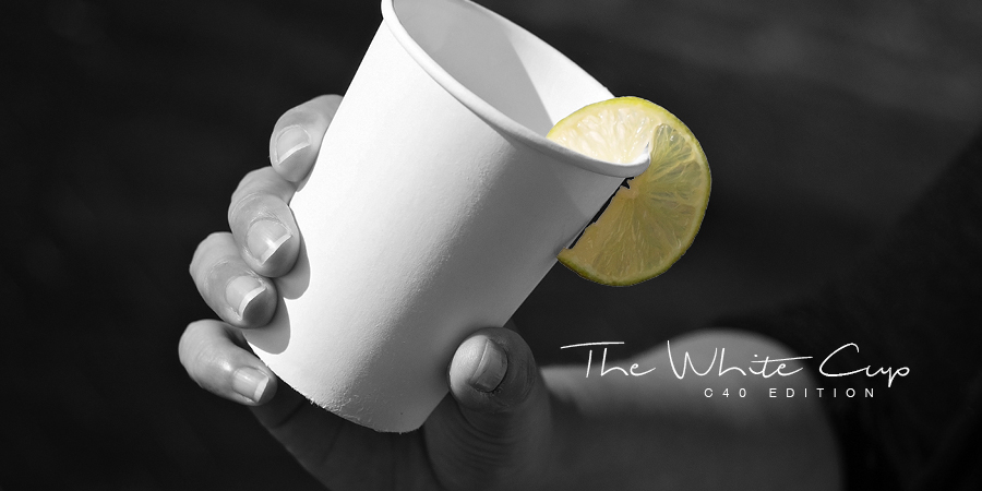 the white cup - c40 edition